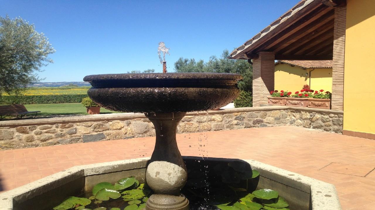 Agriturismo Bolsena - Arlena - fontana